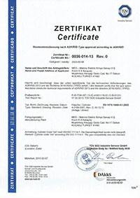 1-lt-Endüstriyel Tüp Sertifikası