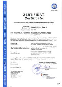 10-lt-Endüstriyel Tüp Sertifikası