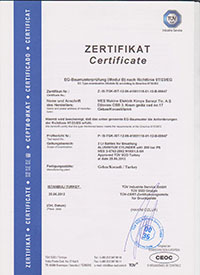 2 l. Alüminyum Dalış Tüpü Sertifikası