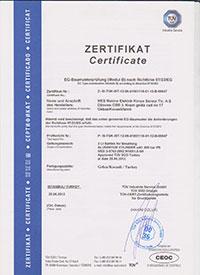 2l. Alüminyum Dalış Tüpü Sertifikası