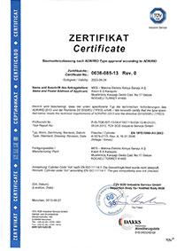 3 l. Alüminyum Dalış Tüpü Sertifikası