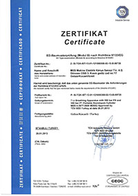 7 l. Alüminyum Dalış Tüpü Sertifikası