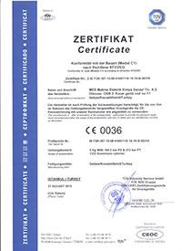 Alüminyum Akvaryum Co2 Tüpleri Sertifikası